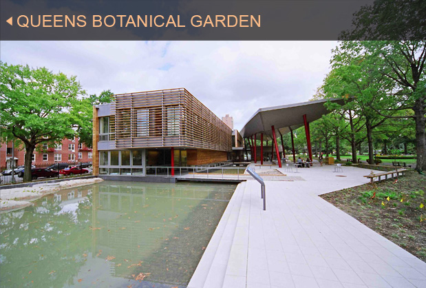 Green Building Gallery   Queens Botanical Garden | Clivus Multrum, Inc.  Projects Portfolio