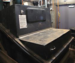 Clivus Multrum composting toilet system